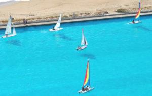 San Alfonso Del Mar sailing